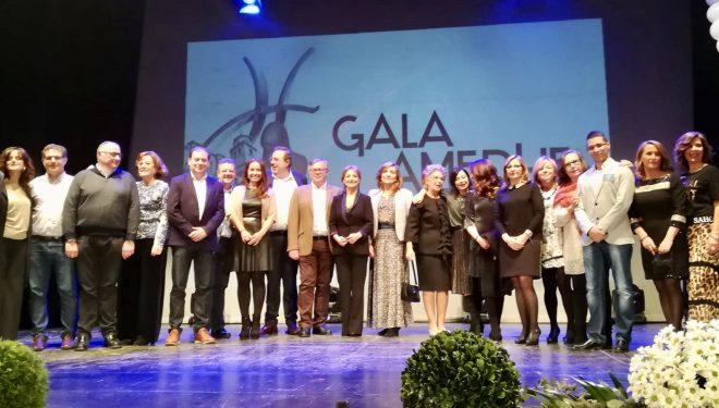 La Gala de AMEDHE como homenaje a la mujer empresaria fue todo un éxito