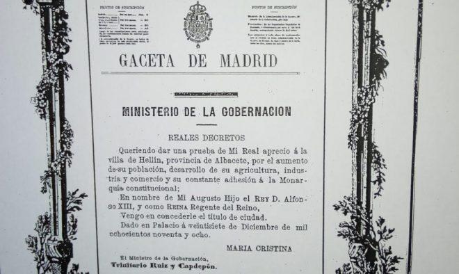 Gaceta de Madrid.
