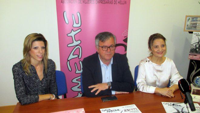 Presentación de la IX Gala de Asociación de la Mujeres Empresarias de Hellín (AMEDHE)