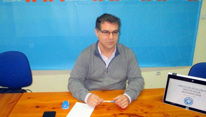 Manuel Serena muestra su preocupación por los últimos datos del desempleo en Hellín