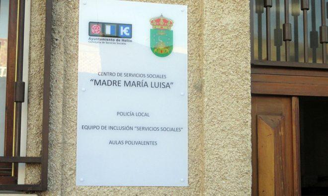Placa Policia Local / EFDH.