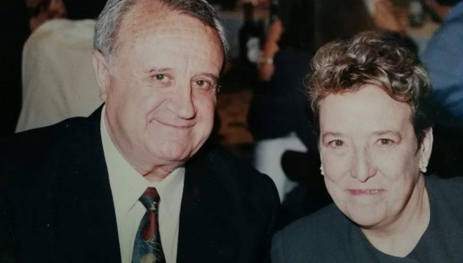 Funeral de Benedicto Tomás y Carmen Batlle