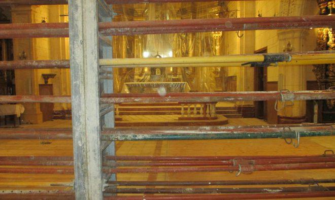 Obras en el  Convento de los Franciscanos / EFDH.