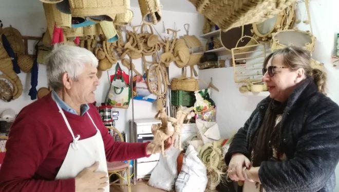 Ciudadanos Hellín promueve el uso y promoción del esparto en la ciudad de cara a su posible declaración por la UNESCO