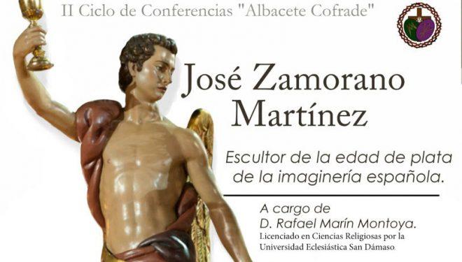 Conferencia en Albacete sobre el escultor hellinero José Zamorano
