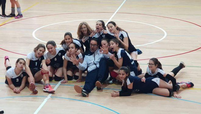 El CV Ciudad de Hellín logró un meritorio quinto puesto en el Grupo B de la Copa de España