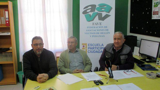 FAVE pide el apoyo de la ciudadanía a la Plataforma Ciudadana por el tren para Hellín y su Comarca