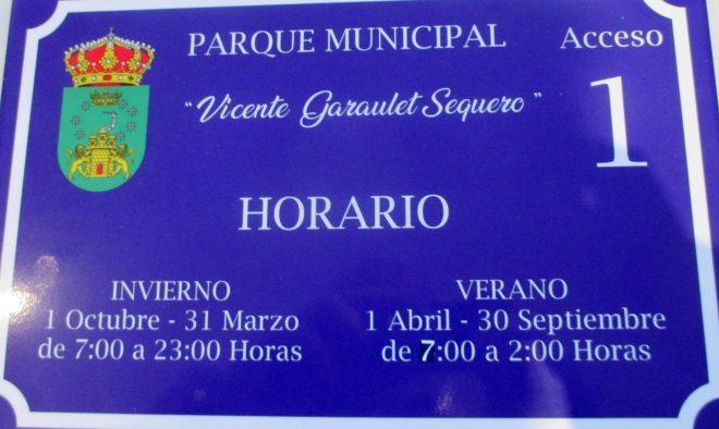 Nuevo horario / EFDH.