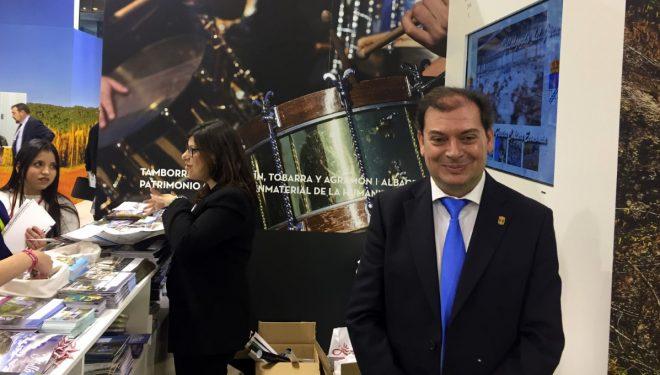 Francisco Javier Morcillo se muestra satisfecho del trabajo de promoción llevado a cabo en FITUR