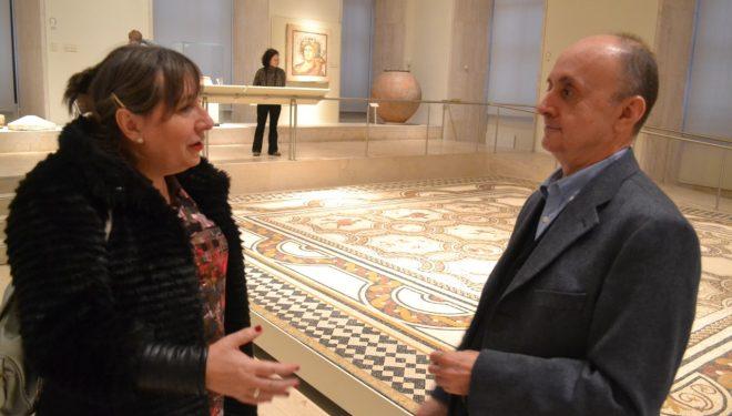 Ciudadanos propone realizar una copia del Mosaico de las Estaciones para trasladarla a Hellín