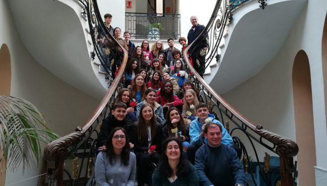 Intercambio entre estudiantes de College Collyers y del IES Cristóbal Lozano