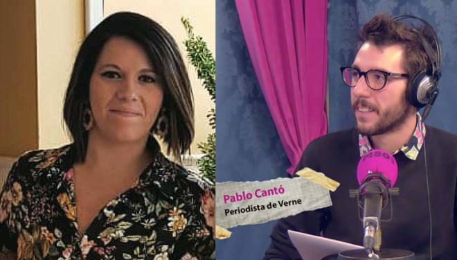 Gloria Jiménez y Pablo Cantó, presentadores del cartel de la Tamborada y la revista Tambor