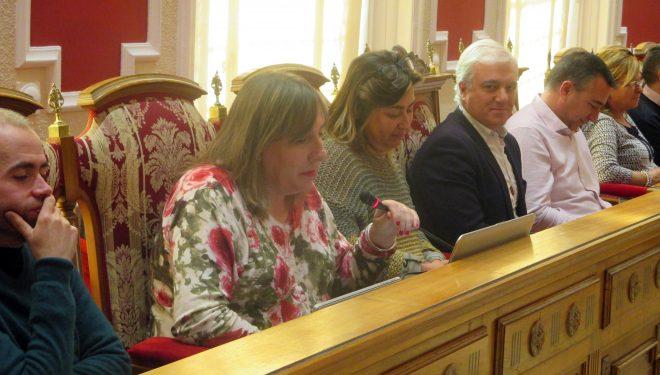 La portavoz de Ciudadanos, María Jesús López, se queda sin tren turístico