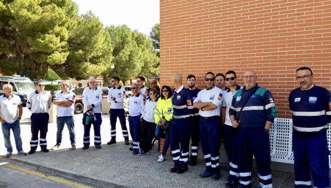Huelga de los trabajadores de ambulancias del SESCAM