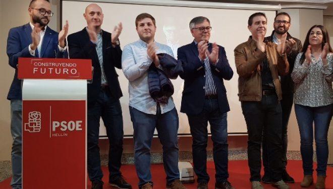 Ramón García nominado oficialmente como candidato a la alcaldía de Hellín por el PSOE