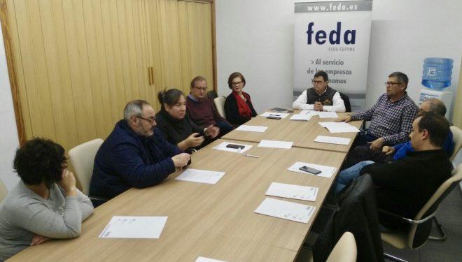 Reunión del grupo local de Ciudadanos con FEDA en busca de una colaboración fructífera