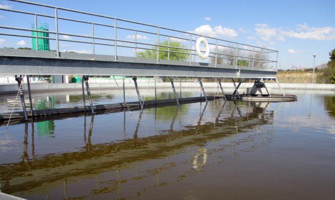 Estación Depuradora de Aguas residuales de Hellín / EFDH.