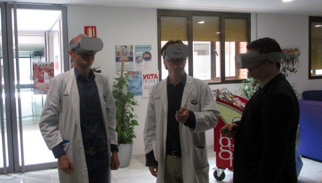 El Hospital Comarcal pone en marcha una visión virtual