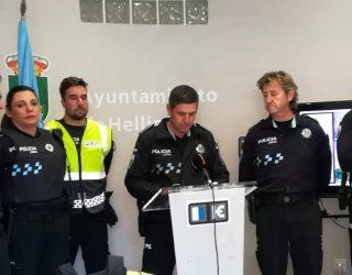 La Policía Local da todo tipo de información sobre las Jornadas de Exaltación