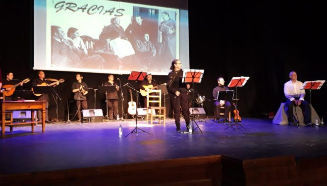 Un recital de Miguel Hernández puso un inmejorable broche al 70 aniversario del Teatro Victoria