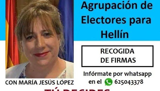 La Agrupación de Electores hace pública la lista con la que se presentará a las municipales