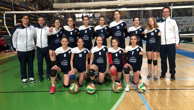 El CV Ciudad de Hellín infantil femenino campeón regional