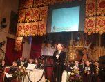 Charo López ofreció un magnífico pregón de Semana Santa pleno de  poesía y musicalidad