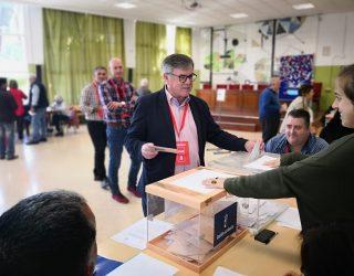 Ramón García confía en obtener una coalición de izquierda