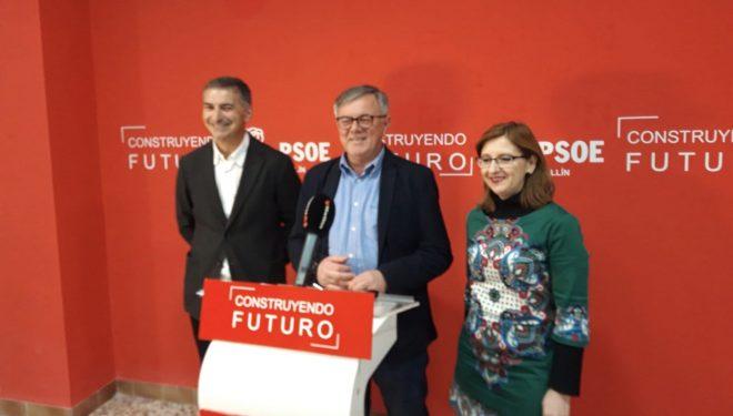 Presentación de Carlos Díaz como candidato del PSOE al Congreso de los Diputados