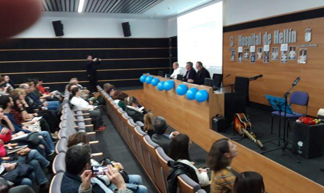 Jornadas de Autismo en el Hospital Comarcal de Hellín / EFDH.
