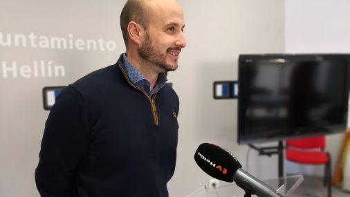 Víctor García, a pesar de la lluvia, hace un balance positivo del transcurrir de la Semana Santa