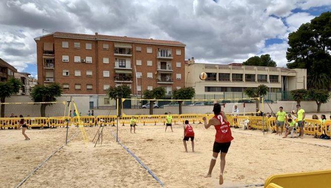 Éxito de los equipos hellineros en el Campeonato Provincial de Voley Playa