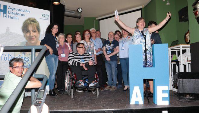 Presentación oficial de la Agrupación Electores Hellín