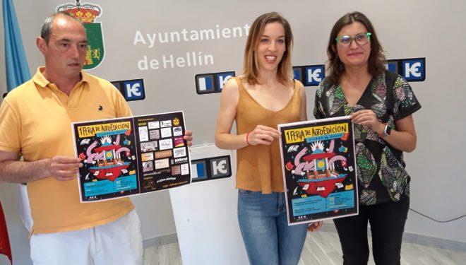 """1ª Feria de AutoEdición """"Ciudad de Hellín"""""""
