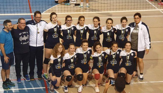 Digno papel de los equipos infantiles masculinos y femeninos en los Campeonatos de España