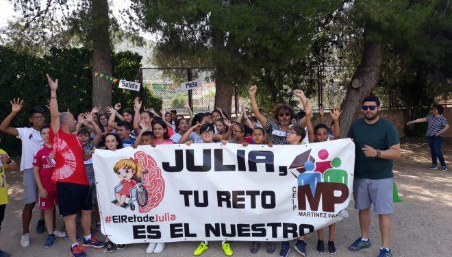 5.345 € recaudados en la campaña de ayuda a la alumna del C.P. Martínez Parras, Julia García