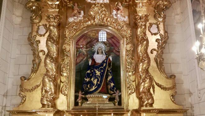 Restaurado el retablo de la imagen de Nuestra Señora de los Dolores