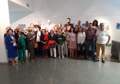 Abierta la exposición del curso de pintura de la Universidad Popular