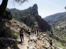Ayna cerró la primera fase de la temporada de senderismo con la Diputación