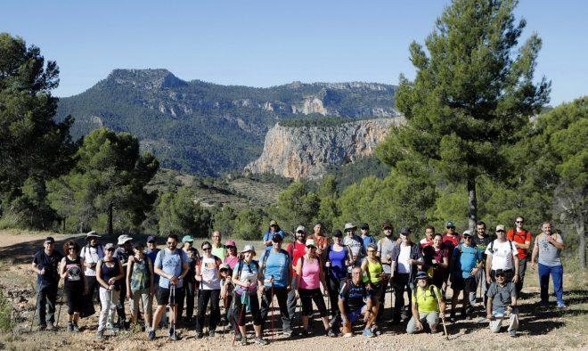 Ruta de senderismo que organiza la Diputación en Ayna / Luis Vizcaíno.