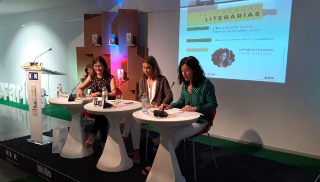 Las Jornadas Literarias de Hellín se iniciaron con la presencia de Carmen Posadas