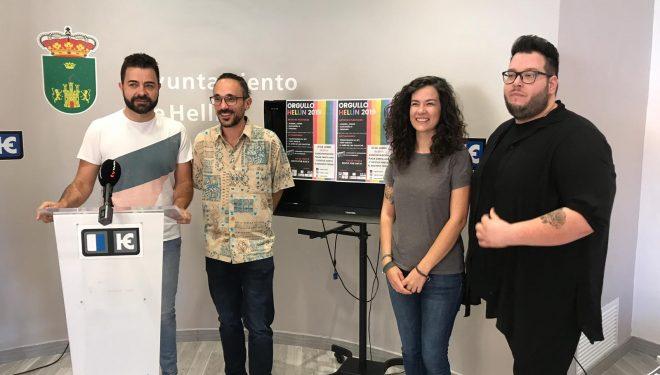 """Fiesta Orgullo Hellín 2019 organizada por el LGTBIH y la Asociación Cultural """"La Escandalera"""""""