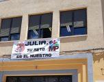 El Colegio Martínez Parras se vuelca con su alumna Julia García Díaz