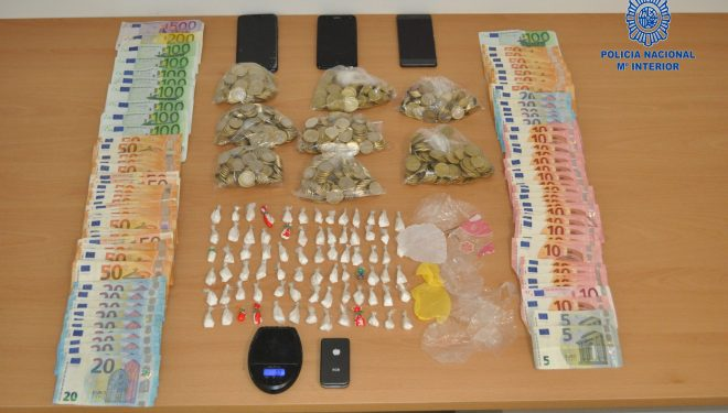 Detenidas dos personas por tráfico de drogas en una discoteca