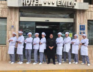 Finalizado el curso de cocina impartido por el centro de formación Vizcaíno Mena