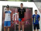 17 medallas para los nadadores hellineros Hermosilla e Ibáñez