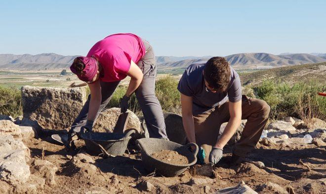 Excavaciones arqueológicas en el Tolmo de Minateda.