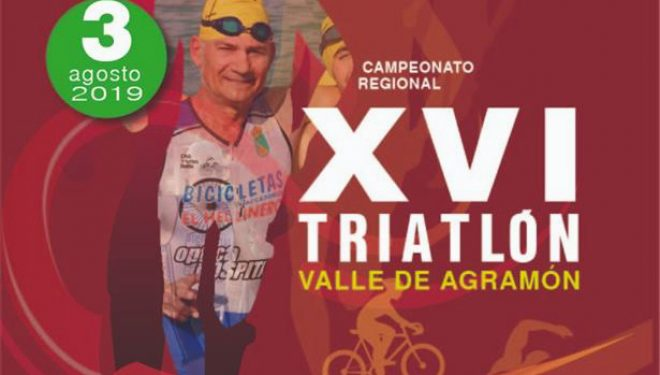 XVI Triatlón de Agramón, este sábado, 3 de agosto
