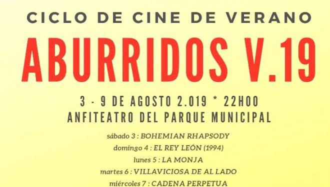 """Suspendido  el """"Ciclo de Cine Aburridos v. 19"""""""