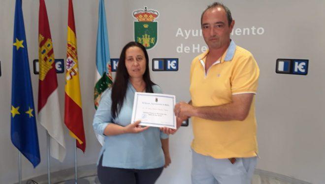 Maria Dolores Cifuentes, ganadora del la sétima edición del Concurso de microrrelatos